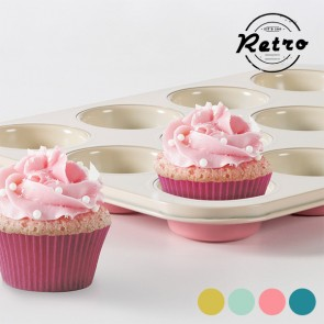 Stampo per Cupcake Retro