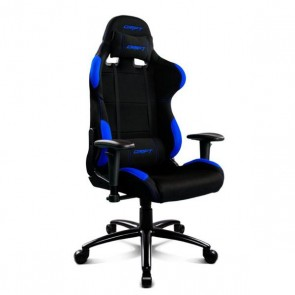 Sedia Gaming DRIFT DR100BL 90-160º Stoffa Spumă Nero Azzurro