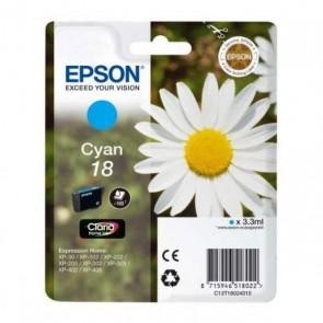 Cartuccia ad Inchiostro Originale Epson C13T18024010 Ciano