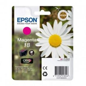 Cartuccia ad Inchiostro Originale Epson C13T18034010 Magenta
