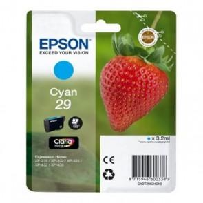 Cartuccia ad Inchiostro Originale Epson C13T298240 Ciano