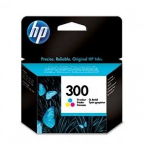 Cartuccia ad Inchiostro Originale Hewlett Packard CC643EE Tricolore