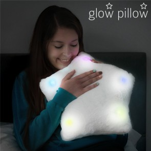 Cuscino LED a forma di Stella Glow Pillow