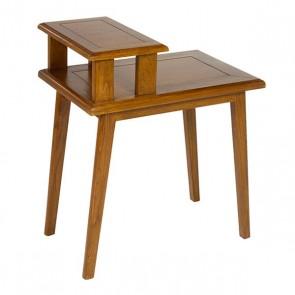 Tavolino Aggiuntivo (60 x 40 x 70 cm) Legno di noce Legno di mindi