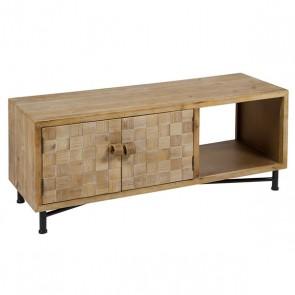 Tavolino TV (110 x 38 x 45 cm) Brad Ferro