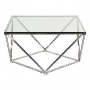 Tavolino da Caffè (80 x 80 x 45 cm) Acciaio
