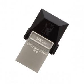 Memoria USB e Micro USB Kingston DTDUO3 32 GB USB 3.0 Nero Grigio