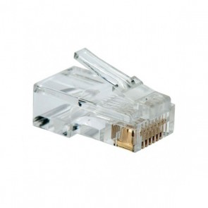Connettore RJ45 Categoria 5 UTP NANOCABLE 10.21.0101 10 pcs Grigio