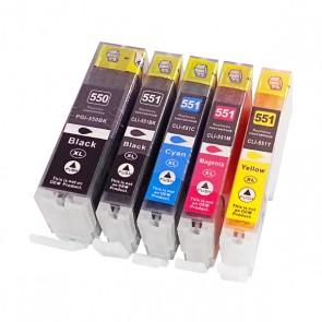 Cartuccia d'inchiostro compatibile Inkoem CLI551XL