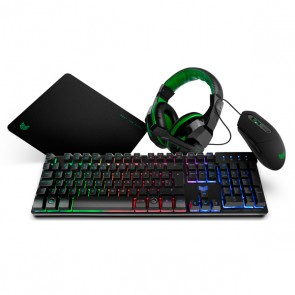 Game pack BG BGX4PCK (4 Pcs) Nero Verde