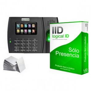 Sistema di Controllo di Accesso Biometrico LID LID30 Nero (30 Licenze)