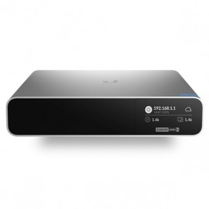 Controller di rete Wifi Cloud Key UBIQUITI UCK-G2-PLUS Octa Core PoE LAN Grigio