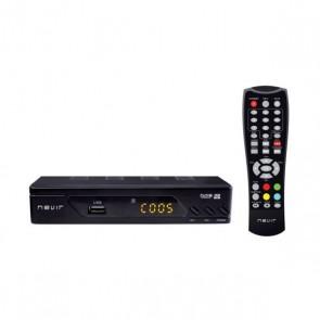 Sintonizzatore TDT NEVIR NVR-2593 HDTV USB Nero
