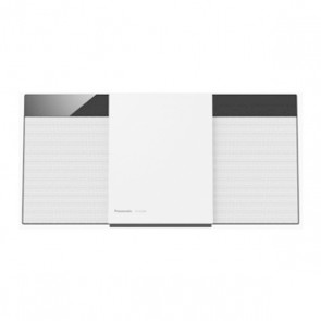 Mini impianto Stereo Panasonic SCHC300EGW HiFi Bluetooth 20W Bianco