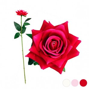 Fiore Decorativo Rosa 1123649 (50 Cm)