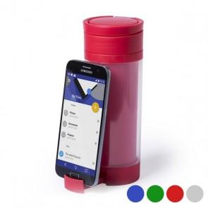 Borraccia in Polipropilene con Supporto per Cellulare (390 ml) 145498