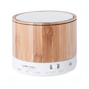 Altoparlanti Bluetooth Senza Fili USB FM 3W Bambù 146143
