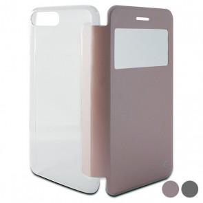 Custodia Folio per Cellulare Iphone 8 Plus/7 Plus Crystal View
