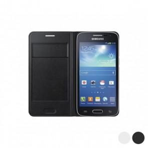 Flip Wallet per Galaxy Core LTE G386F Samsung