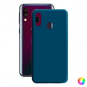 Custodia per Cellulare Samsung Galaxy A40 Contact Silk TPU