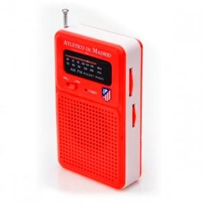 Radio Transistor Atlético Madrid 714722 Rosso
