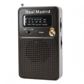Radio Portatile Real Madrid C.F. Neagră
