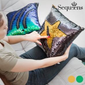 Cuscino Sirena con Federa Magica di Paillettes Sequeens
