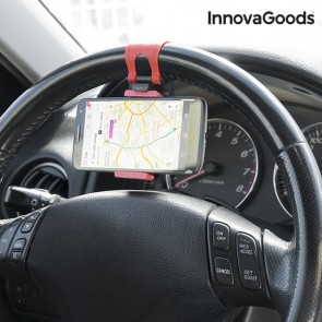 Supporto per Cellulari per Volante Auto InnovaGoods