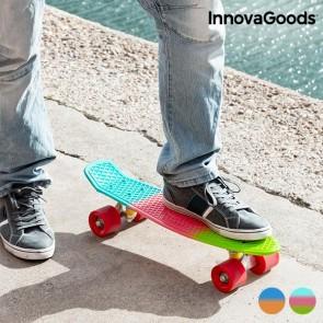 Skateboard Mini Cruiser InnovaGoods (4 Ruote)