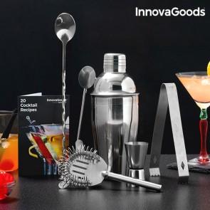 Set per Cocktail con Ricettario InnovaGoods (6 Pezzi)