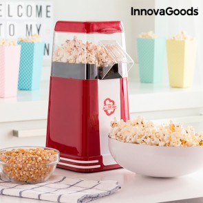 Macchina per Pop Corn Hot & Salty Times InnovaGoods 1200W Rosso