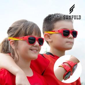 Occhiali da Sole Arrotolabili per Bambini Sunfold Kids Mondiali Spain