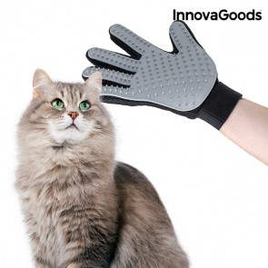 Guanto per Pettinare e Massaggiare Animali Domestici InnovaGoods
