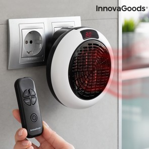 Termoventilatore Ceramico a Corrente con Telecomando InnovaGoods 600W