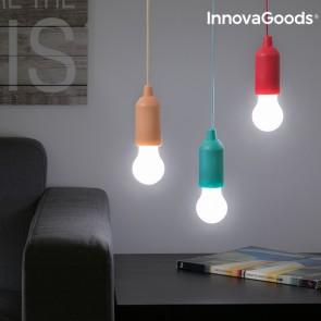Lampadina LED Portatile con Corda InnovaGoods