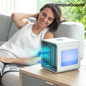Mini Condizionatore Evaporativo Portatile con LED Freezy Cube InnovaGoods