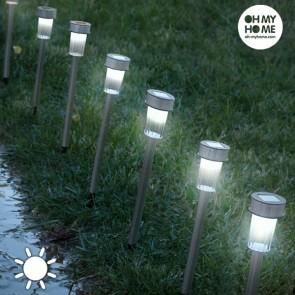Lampade ad Energia Solare Torch Garden Oh My Home (pacco da 7)
