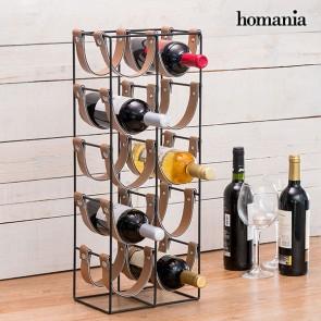 Portabottiglie di Metallo Belt Homania (10 Bottiglie)