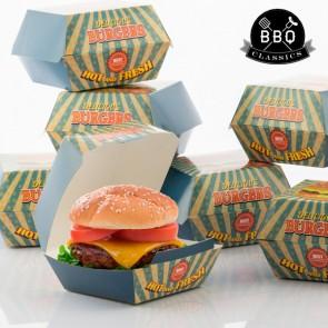 Set di Scatole per Hamburger BBQ Classics (Pacco da 8)