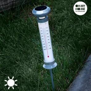 Lampada Solare Termometro Oh My Home
