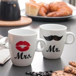 Tazze Personali Mr & Mrs