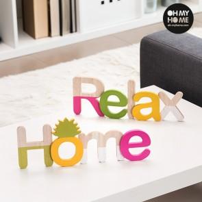 Pannello di Legno Oh My Home (Pacco da 2)
