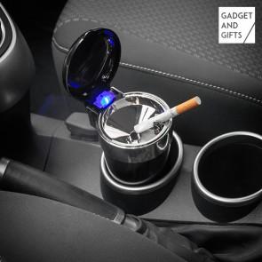 Posacenere con Coperchio e LED per Auto Gadget and Gifts