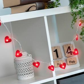 Ghirlanda LED Cuori (10 LED)