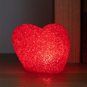 Cuore con LED Multicolor Porporina