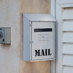 Cassetta per Posta in Metallo Bianca Mail