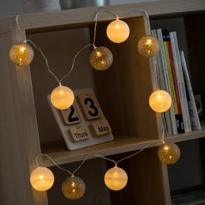 Ghirlanda LED Sfere (10 LED)
