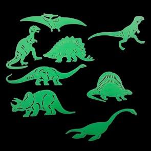 Dinosauri Fluorescenti Jurassic (8 Pezzi)