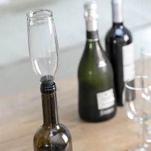 Tappo di Vetro per Bottiglie Calice Glam
