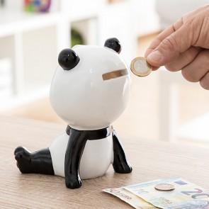 Salvadanaio di Ceramica Panda